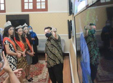 Audience Puteri Cilik dan Puteri Remaja Indonesia SulSel.