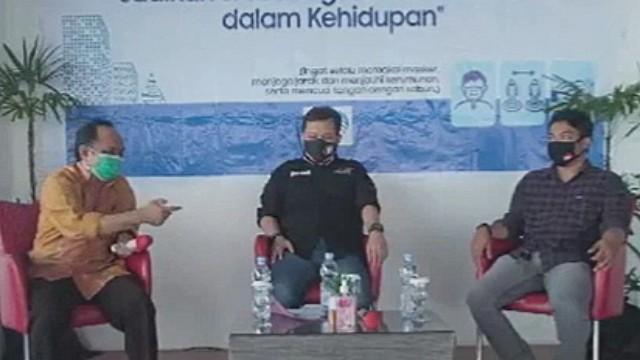 Talk Show Pariwisata SulSel Harian Fajar.