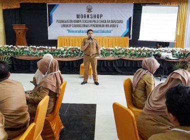 Workshop Cabang Disdik Wilayah V SulSel.