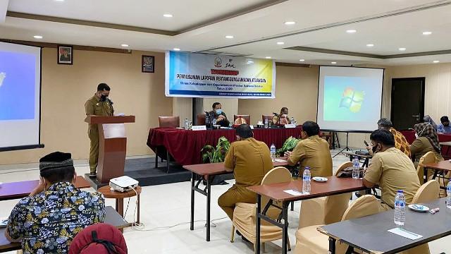 Workshop LPJ Keuangan DisBudPar SulSel.