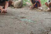 Permainan kelereng di Lorong AMBAE.