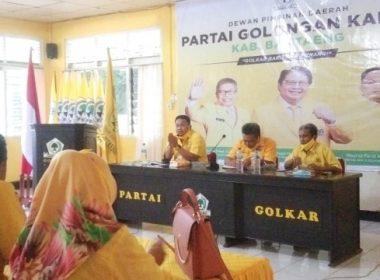 Rapat Pleno I, Konsolidasi DPD II Partai Golkar Bantaeng.