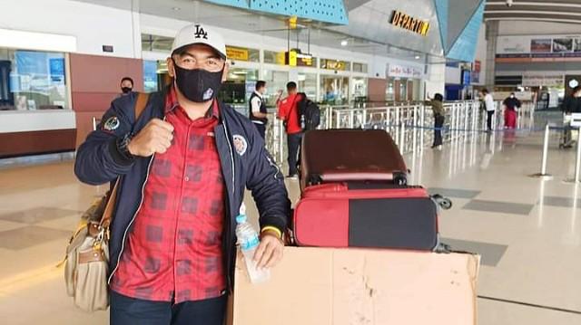 Pindah tugas Syahrul Bayan ke Jakarta.