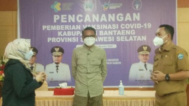 Vaksinasi COVID-19 Bantaeng.