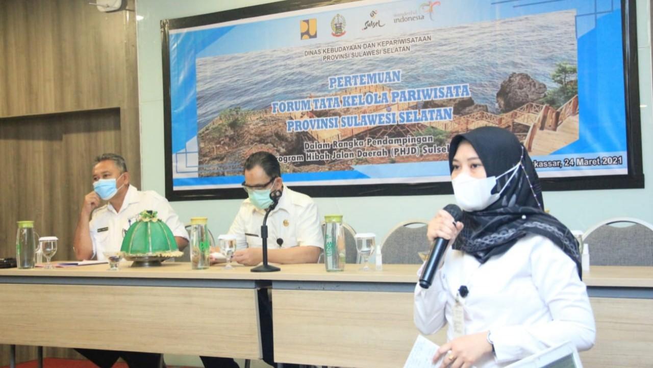 Forum Tata Kelola Pariwisata Pekerjaan Hibah Jalan Daerah.