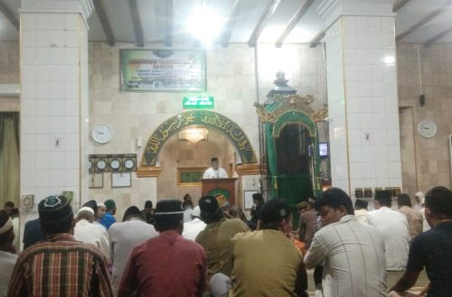 Pembukaan MTQ XXXII Masjid Besar Taqwa Tompong.