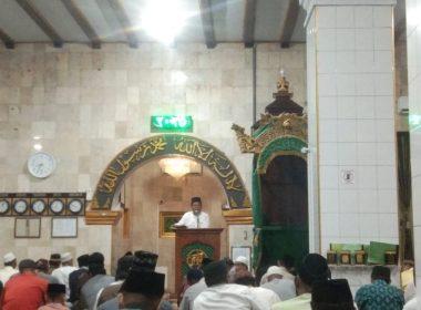 Tarwih pertama 1 Ramadhan 1442 H.