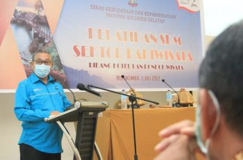 Gelaran Pelatihan SDM Pariwisata Bulukumba.