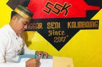 Hadiah puisi Andi Wilyam kepada Nurdin Abdullah.