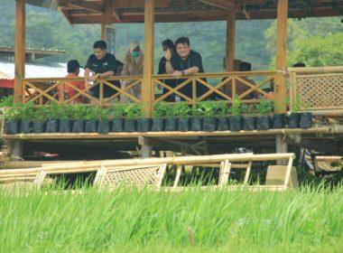 Sadar Wisata di Kampung Galung, Desa Barania.
