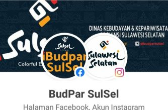 Akun FanPages BudPar SulSel.
