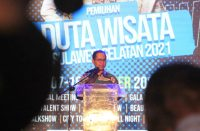 Grand Final Pemilihan Duta Wisata Sulsel 2021 dimulai.